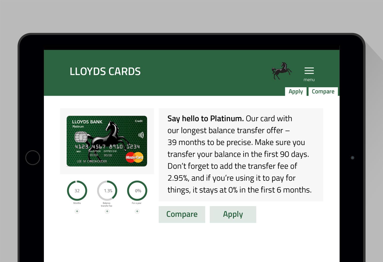 james chorley › lloyds credit card